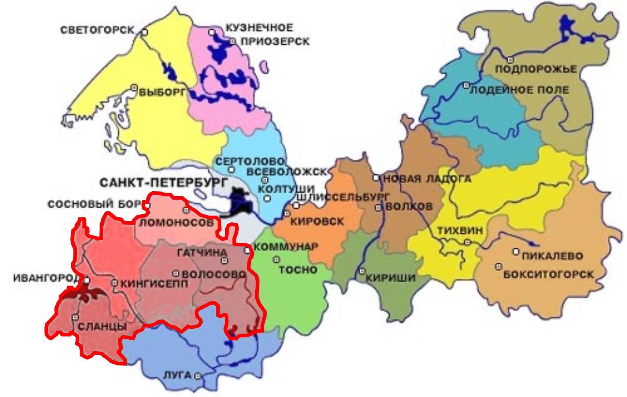 Города ленинградской области 26 фотография